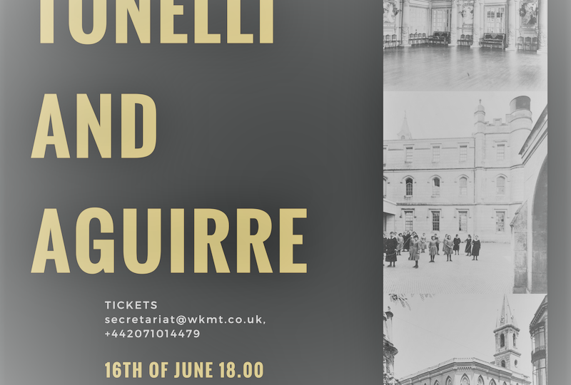 London welcome Aguirre and Tonelli