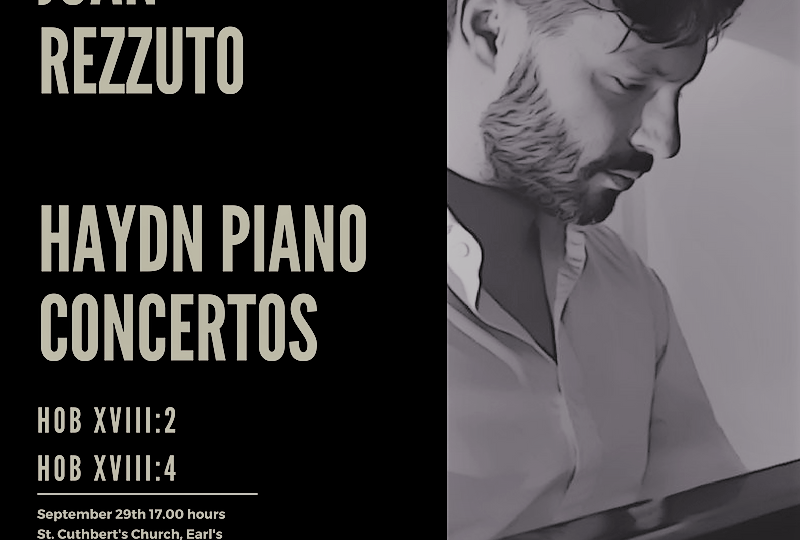 Our new recording project: Haydn piano concertos